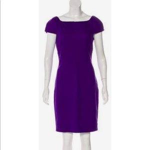 DIANE VON FURSTENBERG Helen Wool Knee-Length Dress